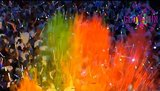 Le paquet Peinture Glow-Run _