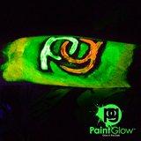 Peinture invisible corps et visage luminescente dans l'obscurité Paintglow en tubes 10 x 13 ml_