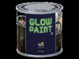 Peinture murale / matière Glow in the Dark_