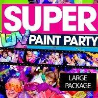 Peinture Party Paquet 3 - Jusqu'à 300 personnes