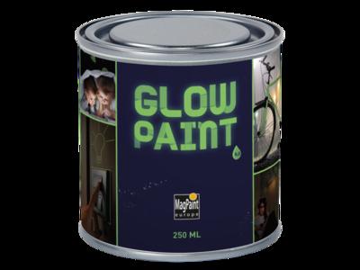 Peinture murale / matière Glow in the Dark